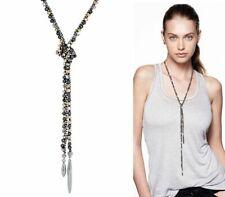 Stella & Dot Zoe Lariat necklace in silver