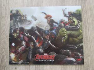 "Marvel The Avengers Age of Ultron 3D Lenticular 8"" x 10"" Poster FREEPOST"