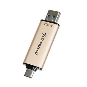 256GB Transcend JetFlash 930C 2-In-1 USB3.2 Flash Drive