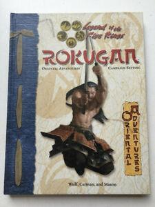 Legends of the Five Rings Rokugan Oriental Adventures AEG 3103