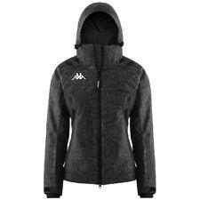 Kappa Women's 6Cento 615 Ski Snowboard Winter Jacket Slim Fit Black XS S M L