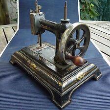 Machine à Coudre Ancienne Jouet Fonte 25,5 x 22 x 16,5 Cm 2,740 Kgs  A Restaurer