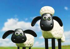 Shaun the Sheep / Timmy Official Garden Metal Ornament Figure Sculpture Gift NEW
