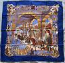 Genuine Vintage Hermes Silk Scarf Splendeur Des Maharajas Authentic 1996