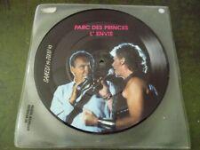 PICTURE DISC JOHNNY HALLYDAY PARC DES PRINCES L'ENVIE