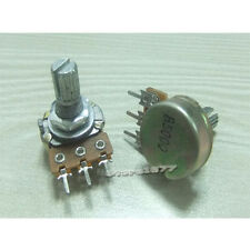 5pcs B500 Linear Taper Rotary Potentiometer  High Quality