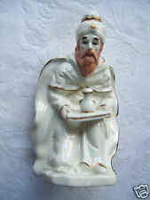 "One Of 3 Wise Men Carrying Gift 8"" Tall Nativity Figurine Gold Trim Color"