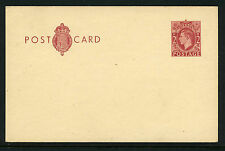 1951-3 2d RED BROWN KGVI POSTAL STATIONERY POSTCARD. CP104b