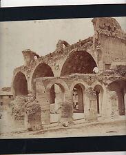 "BASILICA OF CONSTANTINE-ROME-ALBUMEN PHOTO-8"" x 10""-CIRCA 1890"