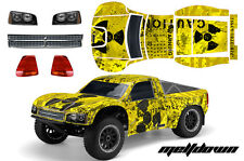 RC Body Graphics Kit Decal Sticker Wrap For Losi SCTE Short Course 1/10 MELT K Y