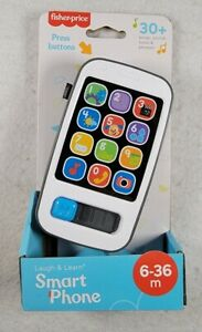 Fisher Price Laugh & Learn Smart Phone Musical Toy Game Baby Toddler Preschool