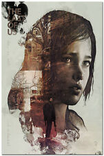 The Last of Us Silk Wall Poster Zombie Survival Horror Action TV Game 24x36innch
