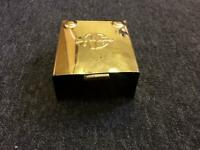 NEW ROYAL ENFIELD 350 500CC CLASSIC BRASS 12V BATTERY COVER