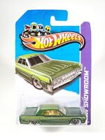 Hot Wheels Showroom '64 Lincoln Continental 191/250 - Green - 1:64 Diecast - NEW