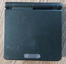 Nintendo Game Boy Advance SP - Schwarz mit Original Ladekabel