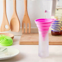 Funnel Folding Kitchen Special Funnel The Kitchen Oil Funnel Silicone Funnel