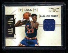 Patrick Ewing National Treasures ALL-NBA Jersey #33/99! 1/1? SP! New York Knicks