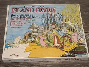 HILTON HEAD: ISLAND FEVER Vintage 1982 Board Game Go Farr It Ltd. RARE HTF