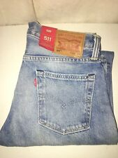 NEW WITH TAGS LEVI'S 511 SLIM WHITE OAK CONE DENIM JEANS 33 X 34