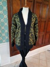 nwot S Dale of Norway Cardigan wool sweater w sequins modern update of classic