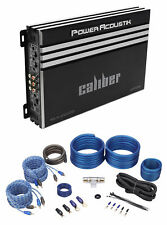Power Acoustik RE4-2000D 2000 Watt 4-Channel Car Stereo Amplifier Amp+Wire Kit