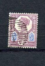 Great Britain #118a (GR441) Type I Queen Victoria 5p lilac & Blue, U,CV$125.00