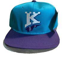 VTG Charlotte Knights Snap Back Baseball Hat Cap White Sox MiLB Kadzu