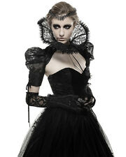 Punk Rave Bolero Shrug Lace Collar Gothic Regency Steampunk Victorian Aristocrat