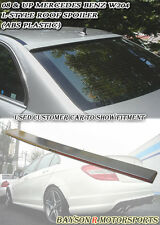 Rear Roof Spoiler Wing Fits 08-14 Mercedes C-Class W204