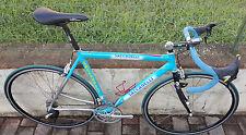 Bici corsa alluminio Saccarelli Mavic Mektronic electronic 9 s road bike alloy