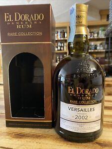 Eldorado rum versailles 2002 70 cl