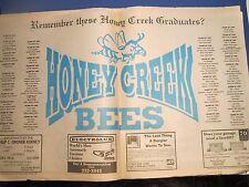 Vintage Rare Terre haute Tribune Star Remember Honey Creek July 26, 1991