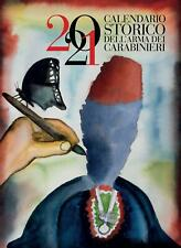 CALENDARIO STORICO dell'Arma dei CARABINIERI 2021 SPEDIZIONE IN 24H