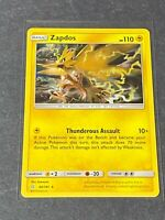 Zapdos 40/181 Holo Rare Pokemon TCG Sun & Moon Team Up
