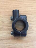 Motorcycle Handlebar Mirror Adaptor clamp on mount Bracket 10mm Thread 22mm