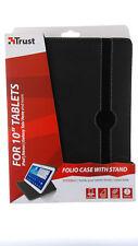 """19660 Trust Folio Case für 10"""" Tablets wie iPad,Galaxy Tab  Schutz Hülle Tasche"""