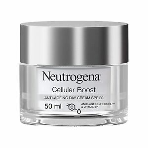 Neutrogena Cellular Boost Anti-Ageing Day Cream SPF 20 Reduces Dark Spots 50 ml