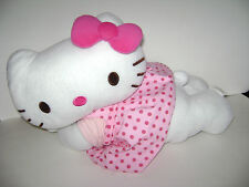 """HELLO KITTY by SANRIO 20"""" PLUSH STUFFED PINK BOW DRESS OUTFIT CUTE"""