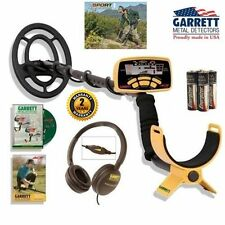 Garrett Ace 250 with Water-Proof Coil + Delux Clearsound Headphones~ Top Rated !