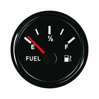 52mm Car Boat Marine Fuel level Gauge Oil Gas Diesel Tank Indicator 0-190 ohms