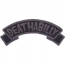 Kreepsville 666 Arch Deathabilly Rockabilly Gothic Punk Rock Iron On Patch PABDB