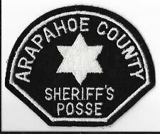 Arapahoe County Sheriff's Posse, Colorado Shoulder Patch
