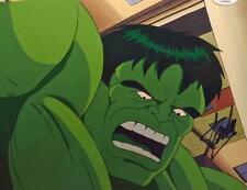 SMASH Incredible Hulk Hand Painted PRODUCTION cel signed STAN LEE PSA/DNA h1