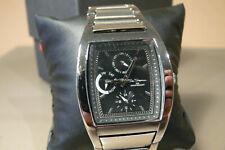 Ben sherman mens gents wrist watch stainless steel black dial r319