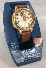 Women's Vintage MICKEY MOUSE LORUS V421-0020 Musical Quartz Wrist Watch