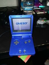 Gameboy advance sp cobalt blue with charger and games