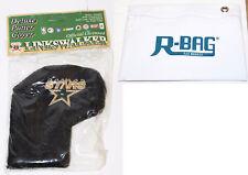 Nhl Dallas Stars Hockey Putter Plush Standard Cover Golf Linkswalker & Rbag New