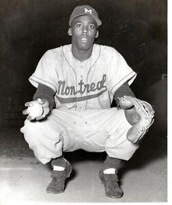 1956  Orig Baseball Photo American Player Catcher JOHN ROSEBORO Montreal Dodgers