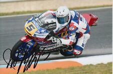 ROMANO Endurance Firmato a Mano RIVACOLD Cecchini 2017 MOTOGP MOTO 3 foto 6X4 4.