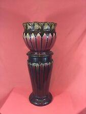 "Large Roseville Pottery Jardiniere w/Pedestal 27"""